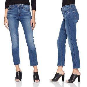JEN7 Straight Crop & Roll sz 12 7FAM Jeans EUC